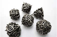 3-D Printed Dice Upgrades - These 3-D Printed Game Pieces Will Improve Dungeons and Dragons