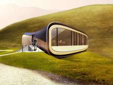 65 Futuristic Cabin Structures - From Floating Lotus Cabins to Suspended Blue Cabins