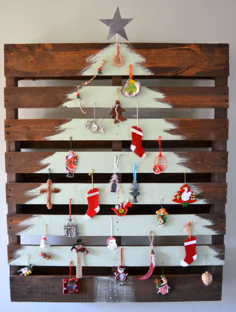 26 Alternative Christmas Tree Ideas - From Festive Felt Trees to DIY Rainbow Tree Wraps
