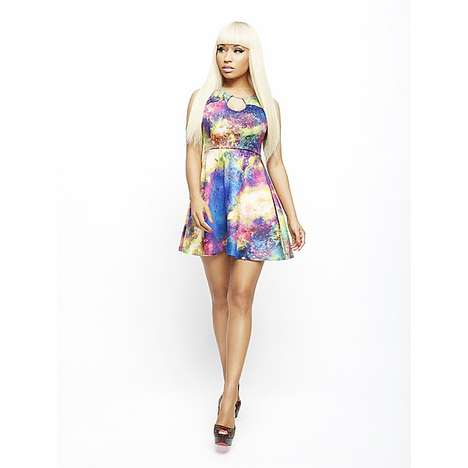 Eccentric Pop Star Apparel - The New Nicki Minaj Kmart Line Mimics the Singer