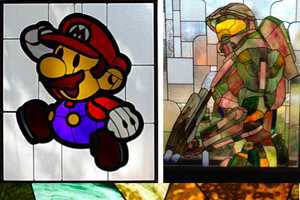 These Rick Daniels Nerdy Stained Glass Creations are Gorgeous
