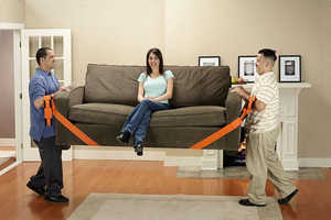 The Forearm Forklift Moving Straps Make Moving a Breeze