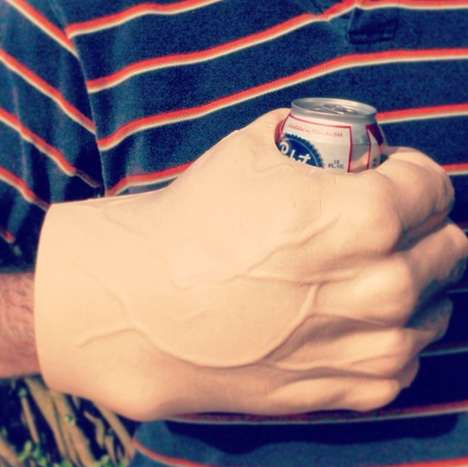 Beastly Fist Beverage Coolers - Nothing Says Party Animal Like Enlarged Fist Drink Holders