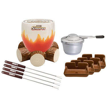 Indoor Culinary Camp Gear - The Hershey's S'mores Maker Set Brings the Fun of a Campfire