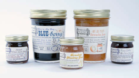 Boozy Fruit Spreads - The Jam Stand Creates Alcohol-Infused Fruit Preserves