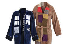 These Dr. Who Bathrobes From 'Think Geek' Have You Traveling in Style