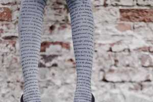 These Zohara Tights are Intellectually Adorable