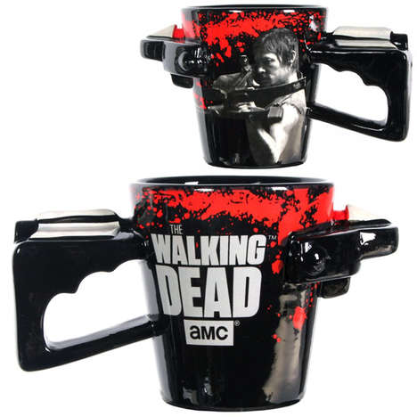 Zombie Crossbow Cups - The Walking Dead Crossbow Coffee Mug is Perfect for Daryl Fans