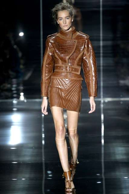 Weather Withstanding Couture - The Tom Ford SS 2014 Collection is Challenging Climate Change