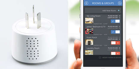 Advanced Smartphone-Controlled Outlets - The Plugaway Controls Your Home Lighting On Your Smartphone