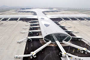 The Shenzhen Airport Happens to Look Like a Manta Ray Shark