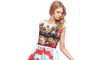 This Baroque Fashion Dress from Romwe is Classically Gorgeous