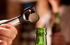 Magnetic Bottle Openers - This Verseur Metal + Levier Pops Bottles With Ease Thanks to Magnetics