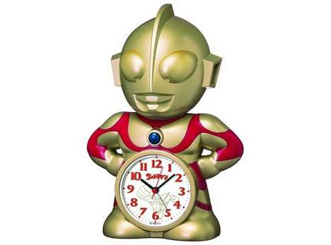 Alarming Action Hero Clocks - This Ultraman Alarm Clock is a Heroic Wake-Up Call