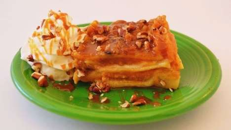 Hybrid Lasagna Pumpkin Dishes - The Piesagna Dish is the Perfect Thanksgiving Dessert in Meal Form