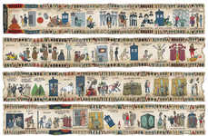 This Doctor Who Tapestry Tells 50 Years of History