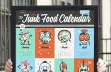 Sweet Tooth Calendars - This Junk Food Calendar is a Low-Cal Way to Enjoy Your Favorite Treats