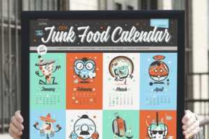 This Junk Food Calendar is a Low-Cal Way to Enjoy Your Favorite Treats