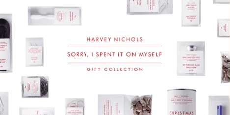Miserly Christmas Campaigns - This Harvey Nichols Christmas Collection is for the Cheap-at-Heart