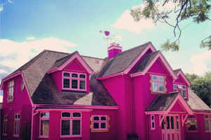 The Eaton House is the Barbie Dream House Brought to Life
