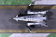 Multifunctional Space Tourism Vehicles - The White Bat Space Craft is for Business and Pleasure