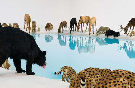 Eminent Lifelike Animal Exhibits - Artist Cai Guo-Qiang Created a Realistic Series of Unusual Art