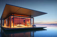 Free-Spirited Floating Homes