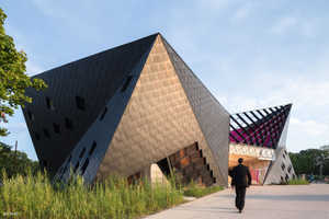 The Mulhouse Cultural Center by Paul Le Quernac is Futuristic