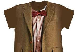 Doctor Who T-shirt Collection Recreates Iconic Costumes