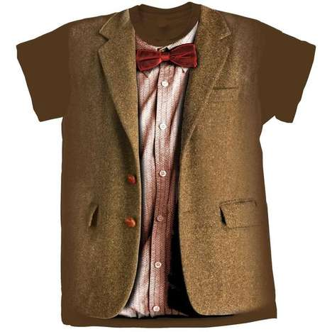Deceptively Dapper Costume T-shirts - Doctor Who T-shirt Collection Recreates Iconic Costumes