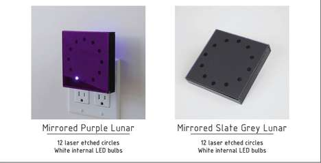 Moon-Mimicking Night Lights - The Lunar is an Open-Source Clock Night Light