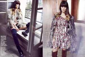 Isabella Fontana is a Free Spirit in Vogue Thailand December 2013