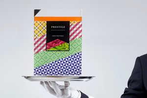 Prestige Juice Branding is Expressed as a Remarkable Patterned Prism