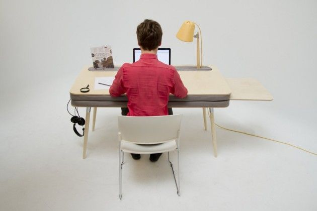 Oddly Cushioned Desks