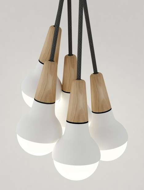Ice Cream-Inspired Lighting - The Scoop by Stephanie Ng is Made for Sweet Tooths