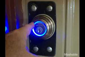 The UniKey Kevo Kwikset Unlocks Your Door with a Touch