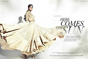 The ELLE India Marriage November 2013 Photoshoot Stars Pallavi Singh