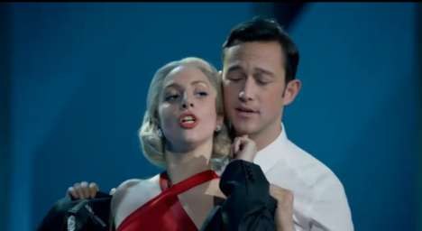 Sultry Celebrity Holiday Duets - Lady Gaga and Joseph Gordon-Levitt Duet for Christmas
