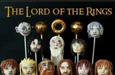 Middle Earth Desserts - The Lord of the Rings Cake Pops is Fantastically Detailed