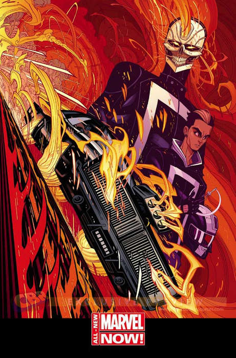 Comic Book Hero Reinventions - The New Ghost Rider is Getting a Macho Makeover