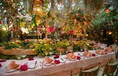 The Mas Provencal Restaurant as Any Gardener's Dream