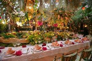 The Mas Provencal Restaurant as Any Gardener's Dream