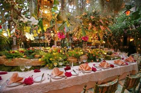 Greenhouse-Inspired Eateries - The Mas Provencal Restaurant as Any Gardener