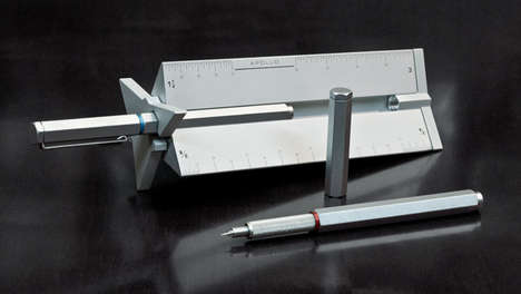 Space-Inspired Drafting Pens - The Apollo Technical Pen and Drafting Scale Has Style and Precision