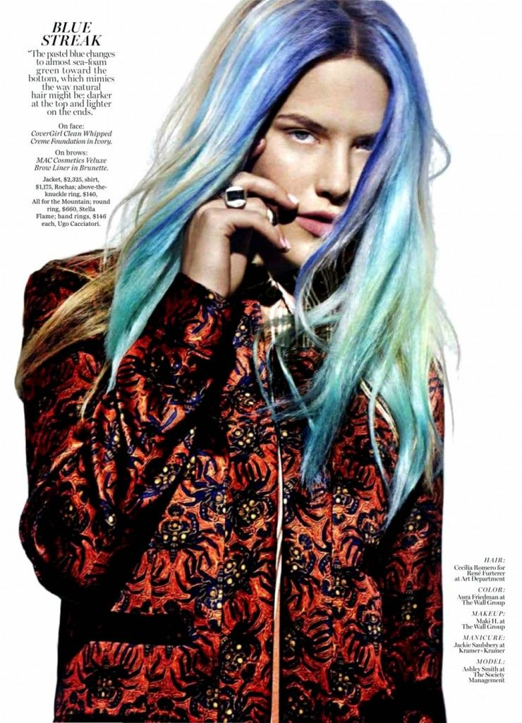 Extreme Hair Color Editorials