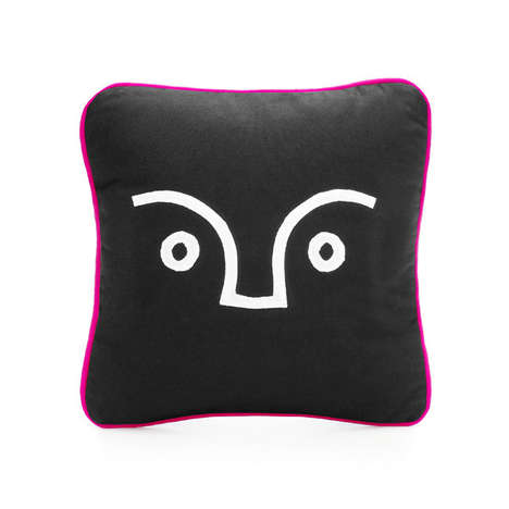 Modern Art Decor - The Applique Cushion from SCENERY Mimicks African Motifs