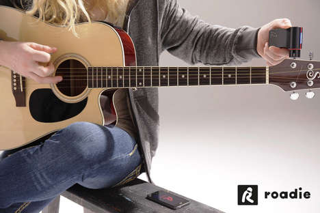 App-Controlled Guitarist Tools - The Roadie Tuner is a Health Check for Your Guitar