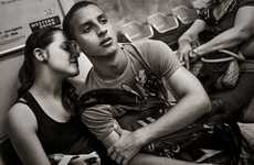 Candid Subway Captures - Stan Raucher's Series of Subway Photos Captures Kind Human Moments