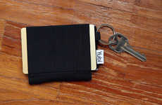 Pop-Down Minimalist Wallets - The Yubi is a Lightweight and Compact Squared Wallet