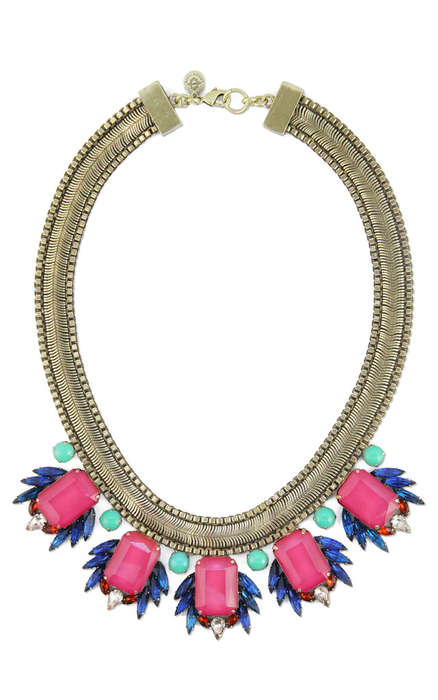 Ornate Embellishment Accessories - The Leda Bib Necklace from Social Dress Shop is Holiday-Ready